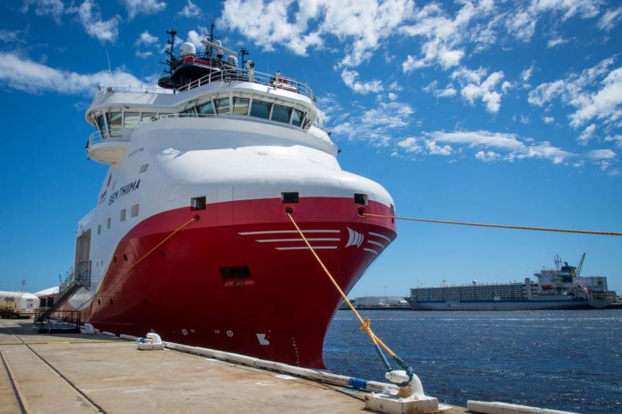 Ship launches LNG as a Pilbara logistics option
