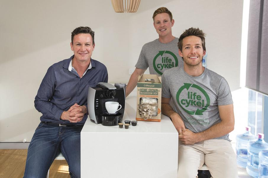 Coffee pods connect to charities