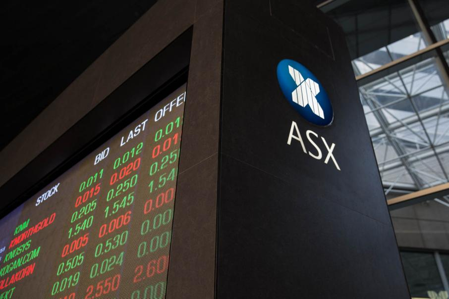 Market opens down 34.7pts